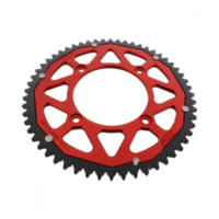 sprocket Dual 56Z Pitch 428 red für Beta RR Enduro 125 ZD3E4000 2013