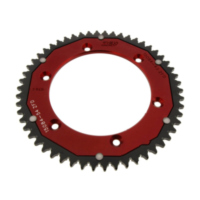 Rear sprocket dual 54 tooth pitch 428 red für Husqvarna TE  125 A500AA 2011