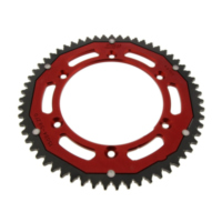 Rear sprocket dual 59 tooth pitch 428 red für Husqvarna TE  125 A500AA 2011